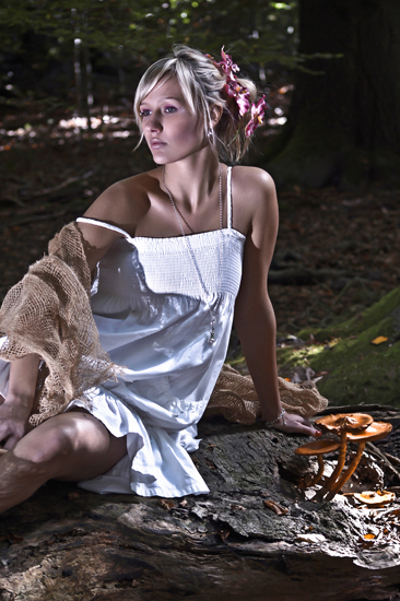 fairy fashion shoot